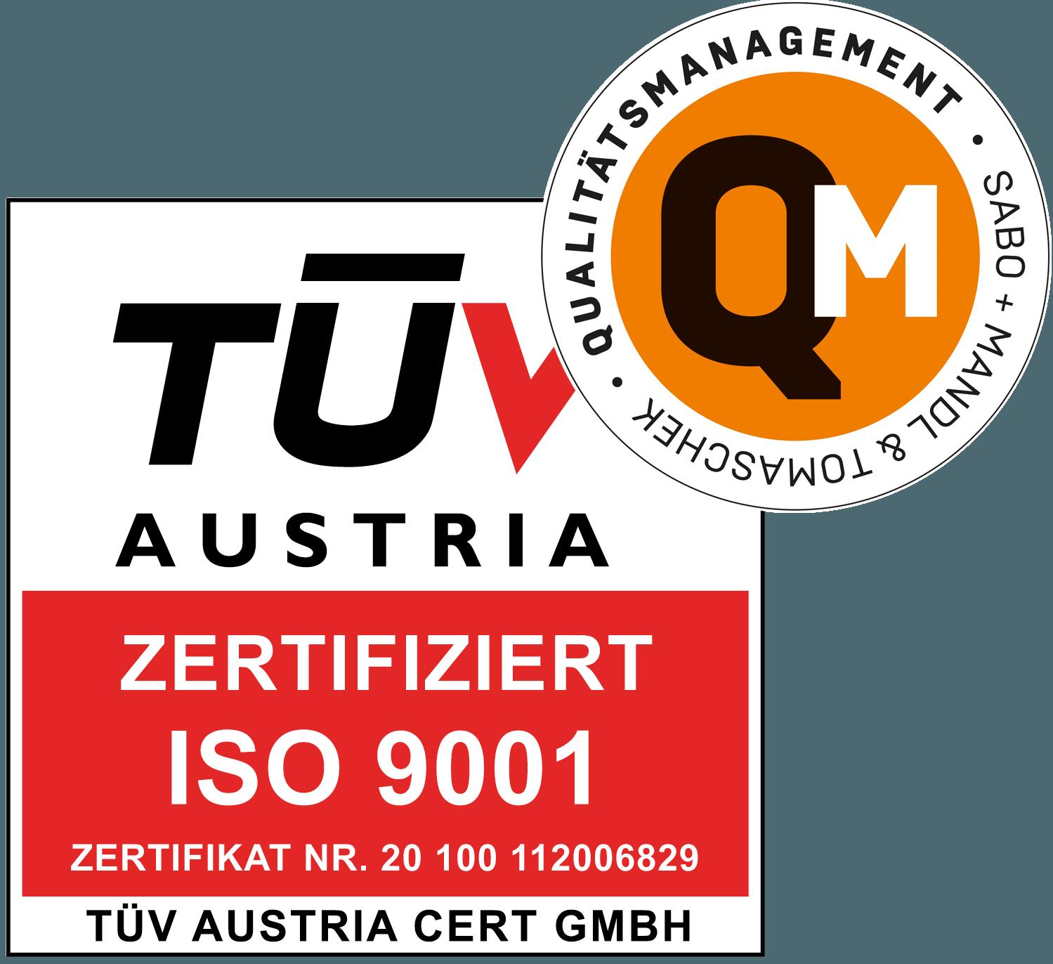 Logo QM | TÜV