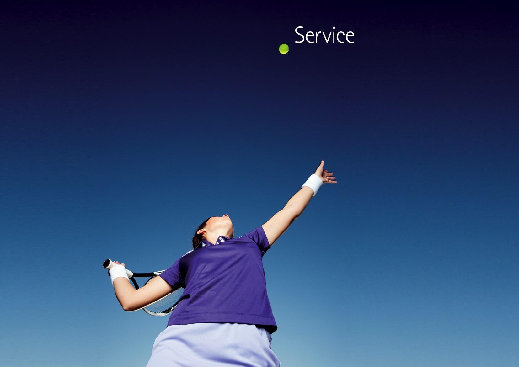 Leitbild Service