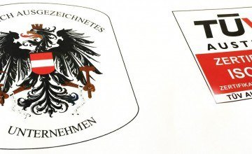 Logo Bundeswappen und TÜV